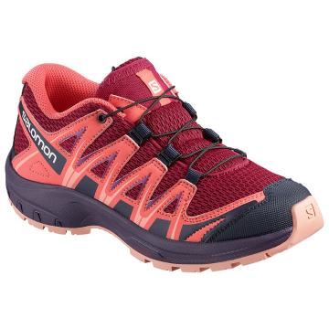 Salomon Kids XA PRO 3D - Cerise/Dubarry/Peach Amber