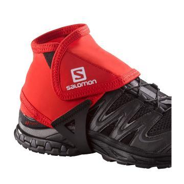 Salomon Trail Gaiters Low - Bright Red