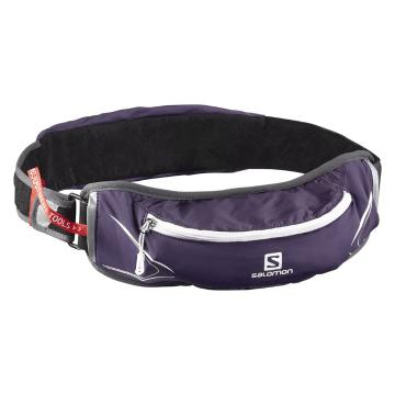 Salomon Agile 500 Belt Set - Purple Velvet/White
