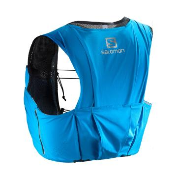 Salomon S/Lab Sense Ultra 8 Set Hydration Vest - Transend Blue/Black