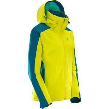 Salomon Women's Brilliant Snow Jacket - Sulphur