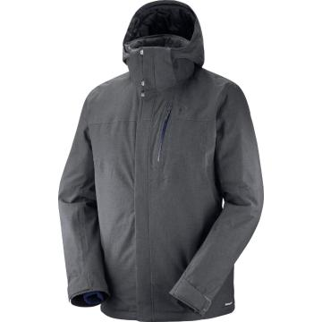 Salomon Men's Fantasy Snow Jacket - Forged Iron - FORGED IRON