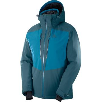 Salomon Men's Icefrost Jacket - ReflectingPond/MoroccanBlu - REFLECTING POND/MOROCCAN BLUE