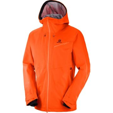 Salomon Men's QST Guard 3L Snow Jacket - Scarlet Ibis - SCARLET IBIS
