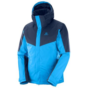 Salomon   Men's Stormseeker Snow Jacket - Hawaiian/Night Sky