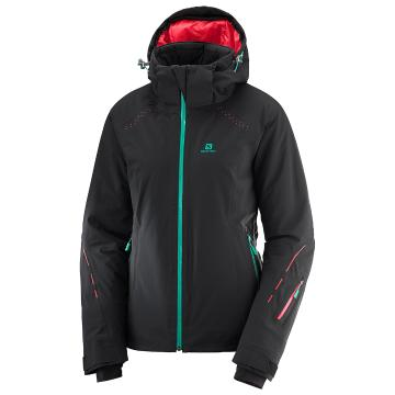 Salomon   Women's Icecrystal Snow Jacket - Black