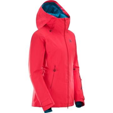 Salomon   Women's Qst Guard Snow Jacket - Hibiscus