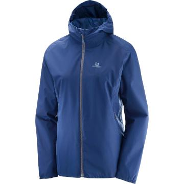 Salomon Women's Essential Jacket - Medieval Blue/Medieval Blue