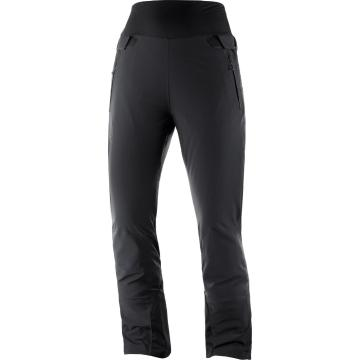 Salomon Women's Icefancy Snow Pants - Black  - Black