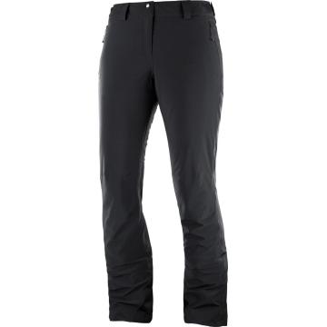 Salomon Women's Icemania Snow Pants - Black - Black