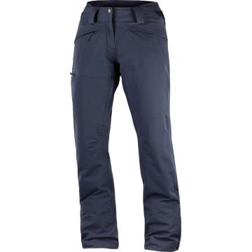 Salomon Women's QST Snow Pants - Graphite - Graphite
