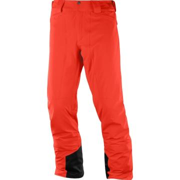 Salomon   Men's Icemania Snow Pants - Fiery Red