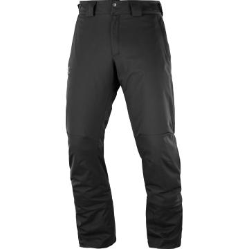 Salomon 2019 Men's Stormpunch Snow Pants - Black