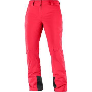 Salomon 2019 Women's Icemania Snow Pants - Hibiscus
