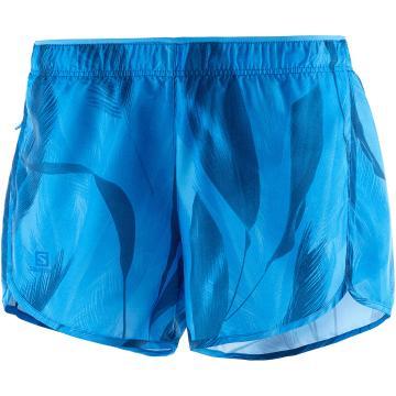 Salomon Women's Agile Short W - Blithe/Poseidon