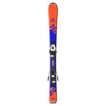 Salomon 2020 Kids EQSTMax JRM Ski+EC5 - Orange/Black