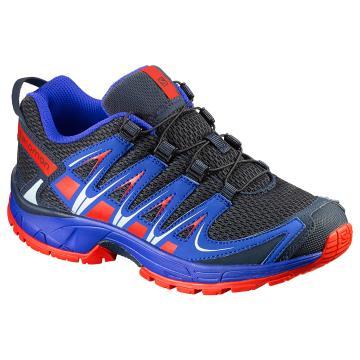 Salomon Kid's XA Pro 3D Shoes - Deep Blue/Blue Yonder/Lava Ora