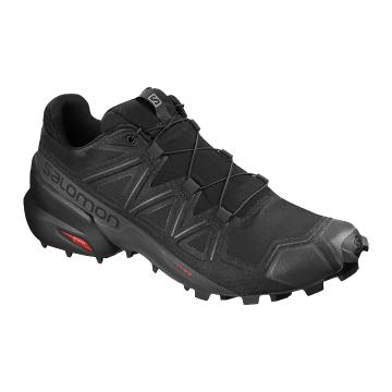 Salomon Men's Speedcross 5 - Black/Black/Phantom