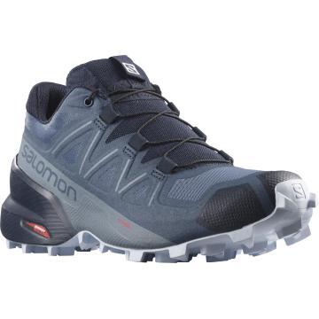 Salomon Women's Speedcross 5 Wide Shoes - Sargasso Sea/Navy Blazer/Heath