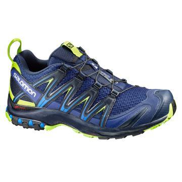 Salomon Men's XA Pro 3D Shoes - Blue Depths/Navy Blazer/Lime P