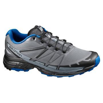 Salomon Men's Wings Pro 2 Shoes - Monument/Black/Nautical Blue