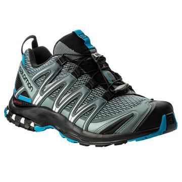 Salomon Men's X-Mission 3 Trail Shoes - Night Forest/Blck/Solar Orang