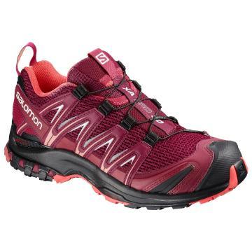 Salomon Women's Xa Pro 3D Shoes - Beet Red/Cerise/Black