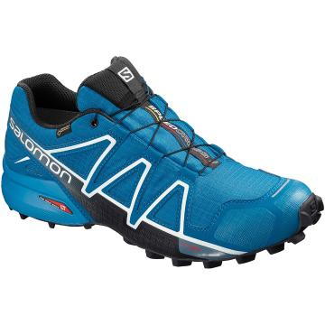Salomon Men's Speedcross 4 Gtx - Sky Divr/IndigoB/Blk