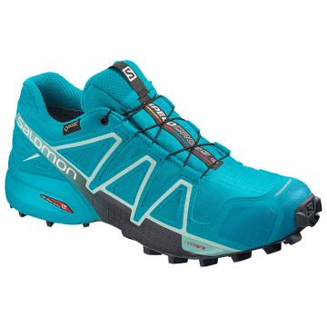 Salomon Women's Speedcross 4 Gtx - Bluebird/Icy Morn/Ebony