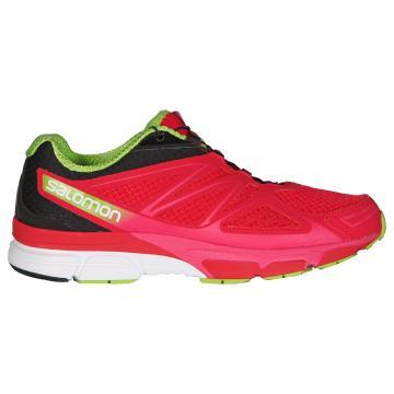 Salomon Women's X-Scream 3D Running Shoes - Lotus Pink/Black/Granny Green