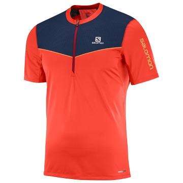 Salomon Mens Fast Wing HZ Tee