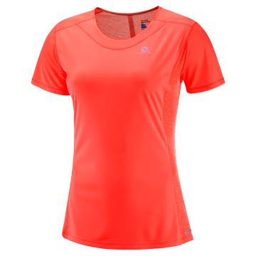 Salomon Women's Agile Short Sleeve Tee