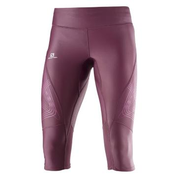 Salomon Women's Intensity 3/4 Tights - Fig