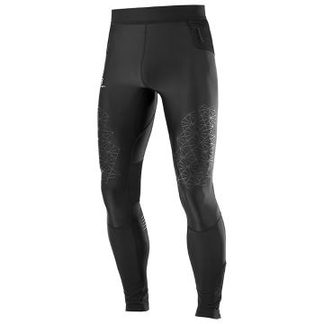 Salomon Men's Fast Wing Long Tight - Black