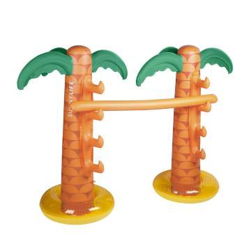 Sunnylife Tropical Island Inflatable Limbo - Orange