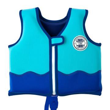 Sunnylife Kids Sharky Swim Vest - Blue - Blue