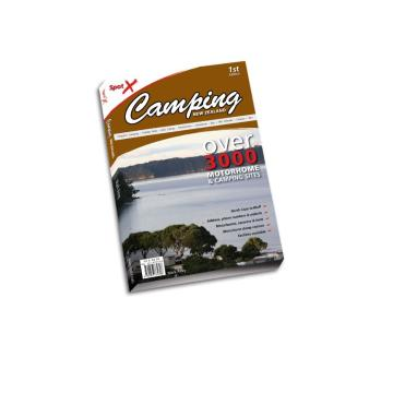 Spotx Publications Limited Camping NZ Book