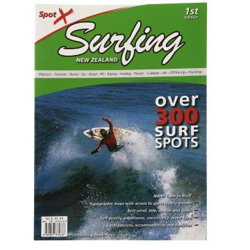 Spotx Publications Limited Surfing NZ Book
