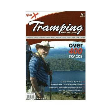 Spotx Publications Limited Spotx Tramping NZ Book