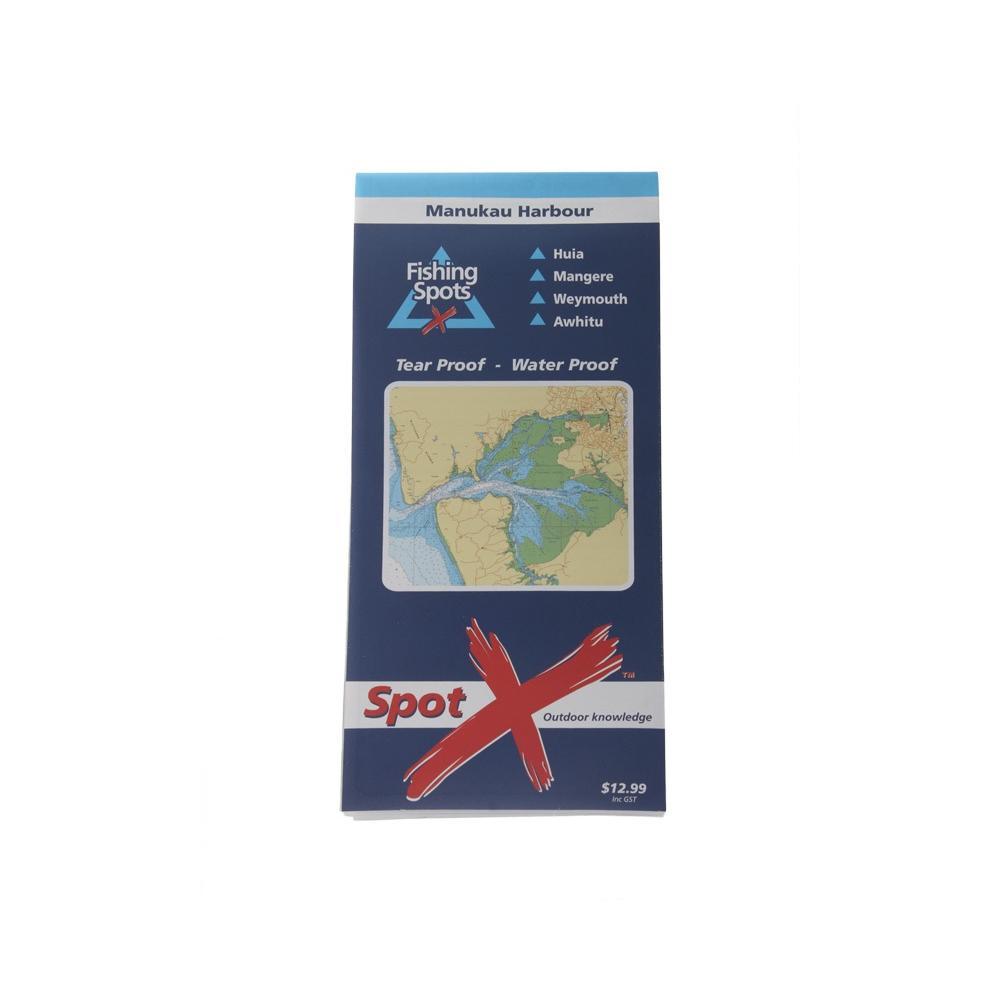 Manukau Harbour Fishing Chart