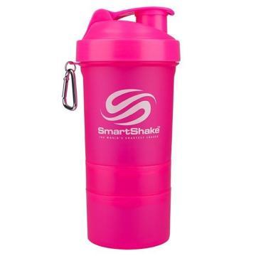 SmartShake 600ml - Neon Pink