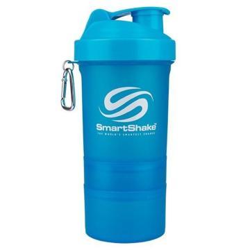 SmartShake 600ml - Neon Blue