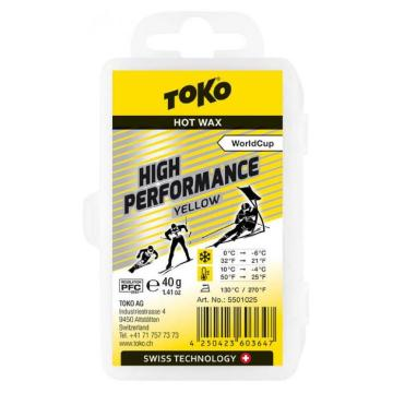 Toko 2020 High Performance Wax 40g - Yellow