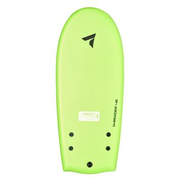"Torpedo7 Shredder 48"" Soft Board With Leash - Green Swirl"