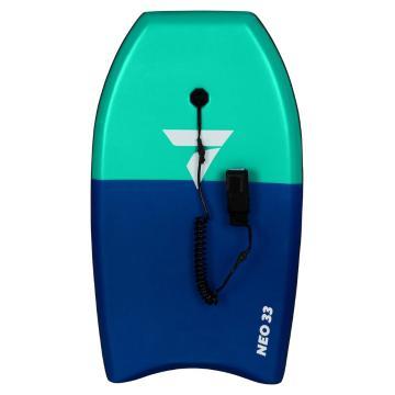"""Torpedo7 2021 Neo 33"""" Bodyboard - Mint/Blue"""