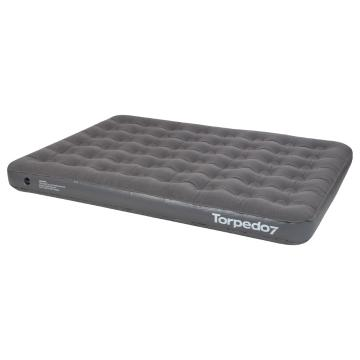Torpedo7 Queen Air Bed - Dark Grey