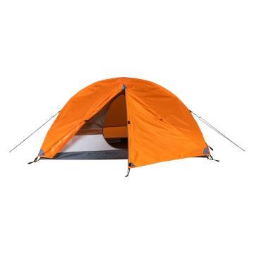 Torpedo7 1 Person Adventure Tent - Deep Burnt Orange/Dk Grey