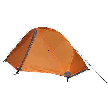 Torpedo7 Mamaku 1-Person Adventure Tent - Deep Burnt Orange/Dk Grey