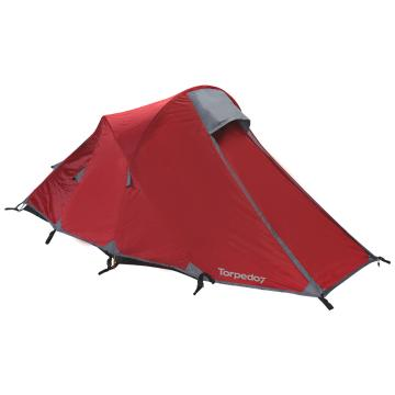 Torpedo7 Momentum 2-Person Adventure Tent - Chilli Red/Grey/Silver