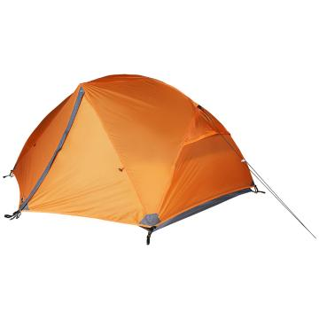 Torpedo7 Mamaku 2-Person Adventure Tent - Deep Burnt Orange/Dk Grey